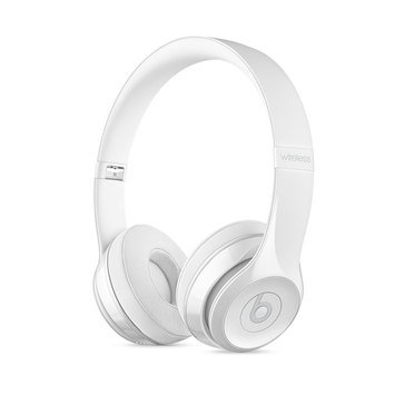 Beats by Dr. Dre Solo 3 Wireless Headphones - Gloss White (MNEP2LL/A)