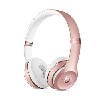 Beats by Dr. Dre Solo 3 Wireless Headphones - Rose Gold (MNET2LL/A)