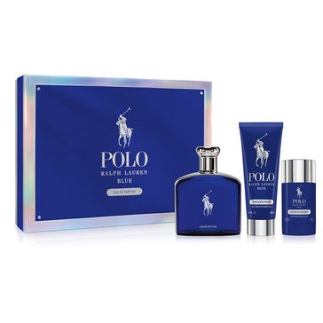 Ralph Lauren Polo Blue EDP 3-Piece Set