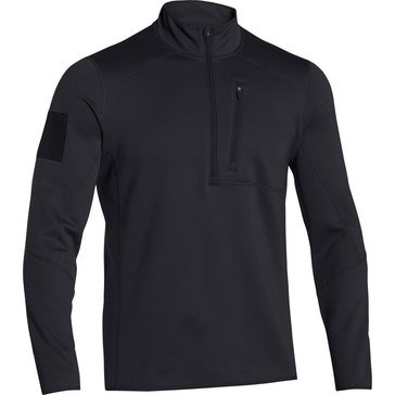 Under Armour Men's Tac Cold Gear Infrared 1/4 Zip 2.0 Black