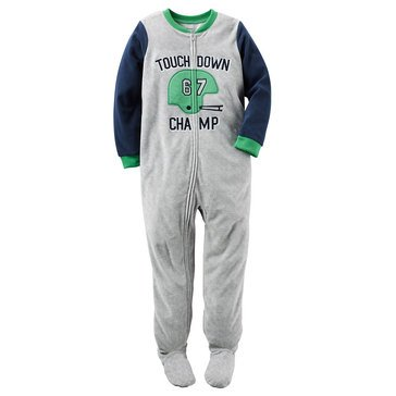 Carter's Baby Boys' Fleece Pajamas, Touchdown Champ