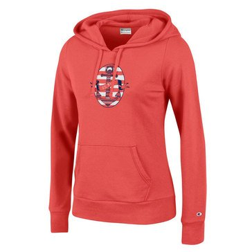 Champion Women's USN Anchor & Banner University Hoodie