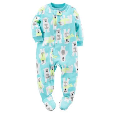 Carter's Baby Boys' Fleece Pajamas, Polar Bear
