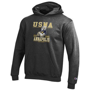 Champion Youth Boys' USNA Goat Annapolis Navy Beat Army Powerblend Hoodie