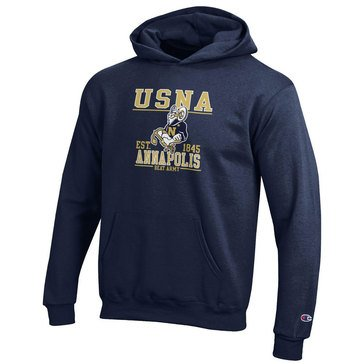 Champion Youth Girls' USNA Goat Annapolis Navy Beat Army Powerblend Hoodie