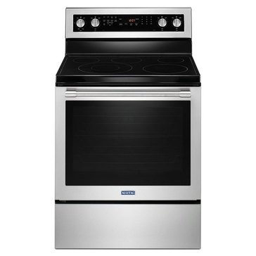 Maytag 6.4-Cu.Ft. Freestanding Electric Range, Stainless Steel (MER8800FZ)