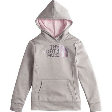 The North Face Big Girls' Surgent Pullover Hoodie, Grey Heather