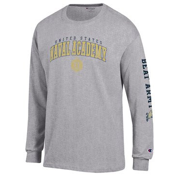 Champion Men's US Naval Academy Beat Army Long Sleeve Tee