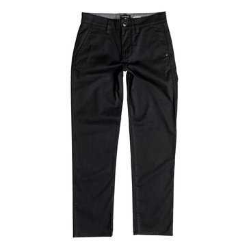Quiksilver Big Boys' Everyday Union Pants, Black
