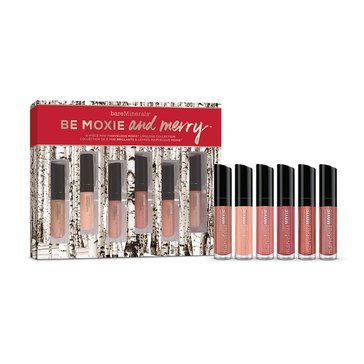 bareMinerals Be Moxie & Merry 6 Piece Marvelous Moxie Lipgloss Collection