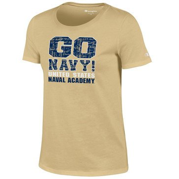 Champion Women's Go Navy Beat Army University Crew Short Sleeve