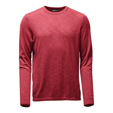 The Northface Thermowool Crew Sweater Red