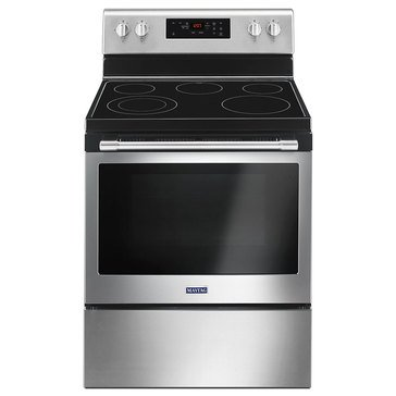 Maytag 5.3-Cu.Ft. Freestanding Electric Range, Stainless Steel (MER6600FZ)