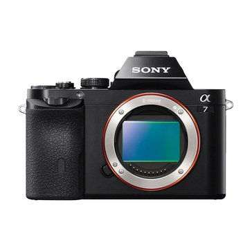 Sony Alpha A7 Mirrorless Digital Camera (ILCE7/B)