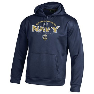 Under Armour Men's Navy Football  AF Hoodie