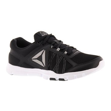 Reebok YourFlex Trainette 9.0 MT Women's Training Shoe Black/ White/ Asteroid Dust/ Silver Metallic Grey