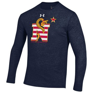 Under Armour Men's Triblend Long Sleeve Tee Don't Tread on Me