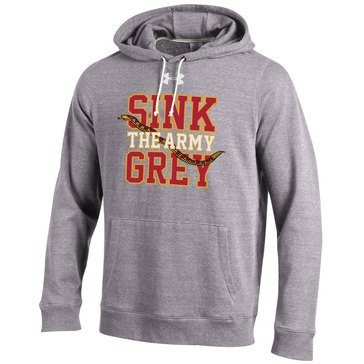Under Armour Men's Triblend Fleece hoodie Snake Sink the Army