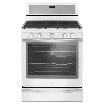 Whirlpool 5.8-Cu.Ft. Freestanding Gas Range, White Ice (WFG745H0FH)