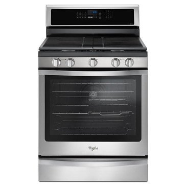 Whirlpool 5.8-Cu.Ft. Freestanding Gas Range, Stainless Steel (WFG745H0FS)
