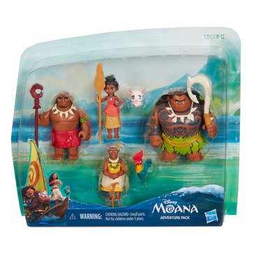 Disney Princess Little Kingdom Moana Figure Multipack