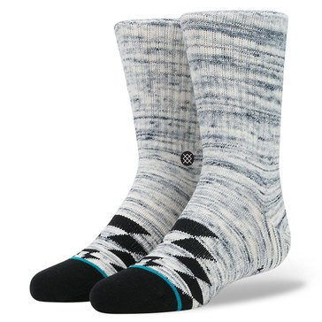 Stance Little Boys' Wedger Crew Socks, Silver