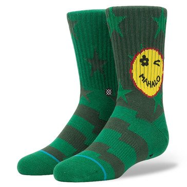 Stance Little Boys' Outpost Crew Socks, Size 2.5-5