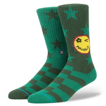 Stance Big Boys' Outpost Crew Socks, Size 6-8.5