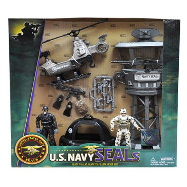 Excite U.S. Navy Seals Set of 2 Figures & Watercraft Toy