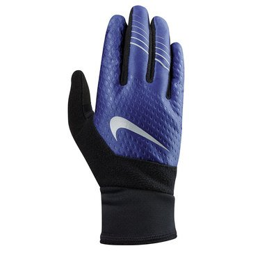 Nike Therma Fit Elite Run Blue Gloves 2.0