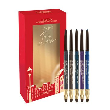 Lancome Le Stylo Water Proof Long Lasting Eyeliner Set