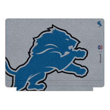 Microsoft Surface Pro 4 Special Edition NFL Type Cover - Detroit Lions