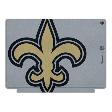 Microsoft Surface Pro 4 Special Edition NFL Type Cover - New Orleans Saints