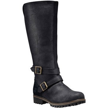 Timberland Wheelwright Women's Tall Wide Calf Boot Black
