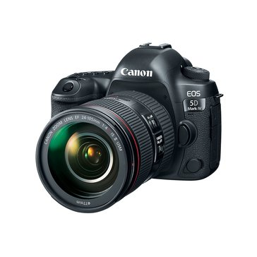 Canon EOS 5D Mark IV DSLR Camera Kit with EF 24-105mm IS II USM Lens (1483C010)