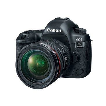 Canon EOS 5D Mark IV DSLR Camera Kit with EF 24-70mm IS USM Lens (1483C018)