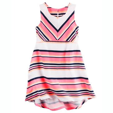 Carter's Toddler Girls' Knit Stripe Hilo Dress