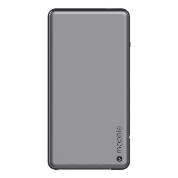 MOPHIE POWERSTATION PLU 4000MAH BATTERY W/ SWITCH-TIP CABLE W/SWITCH-TIP CABLE-SPGRY-BLK