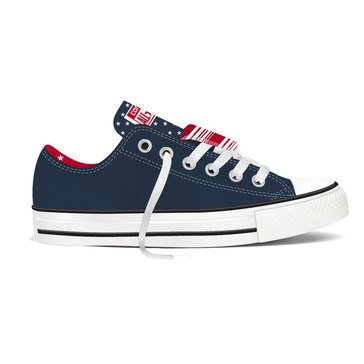 Converse Chuck Taylor All Star Double Tongue Oxford Women's Sneaker Navy/White/Casino