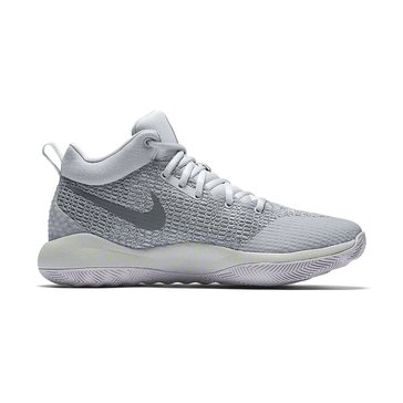 Nike Zoom Rev Men's Basketball Shoe Wolf Grey/ Dark Grey/ Cool Grey/ Volt