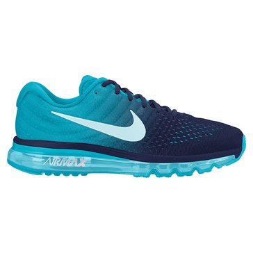 Nike Air Max 2017 Men's Running Shoe Binary Blue/ Glacier Blue/ Chlorine Blue