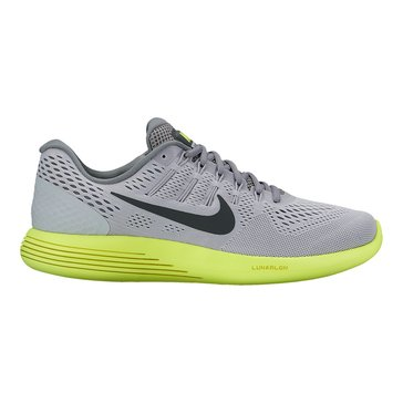 Nike Lunar Glide 8 Men's Running Shoe Wolf Grey/ Anthracite/ Volt/ Cool Grey