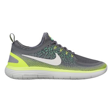 Nike Free RN Distance 2 Men's Running Shoe Stealth/ Hyper Orange/ Wolf Grey