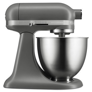 KitchenAid Artisan Mini 3.5-Quart Stand Mixer - Matte Gray (KSM3311XFG)