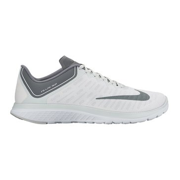 Nike FS Lite Run 4 Men's Running Shoe White/ Cool Grey/ Pure Platinum
