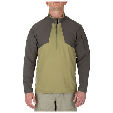 5.11 Men's Thunderbolt 1/2 Zip Underbrush