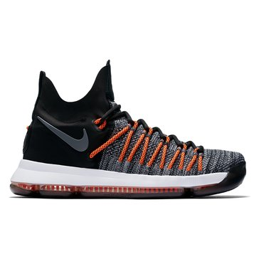 Nike KD 9 PS Men's Basketball Shoe Black/ White/ Dark Grey/ Hyper Orange