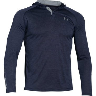 Under Armour Tech Popover Henley Midnight Navy