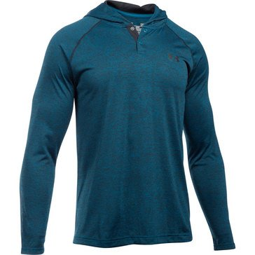 Under Armour Tech Popover Henley Peacock