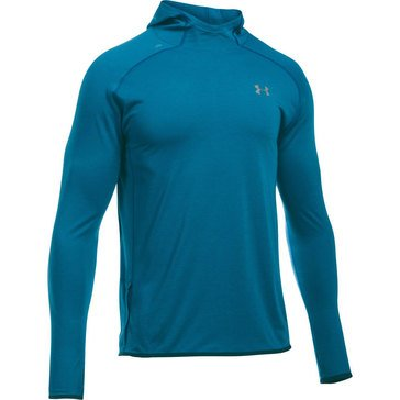 Under Armour Men's Streaker Pull Over Hoodie Peacock